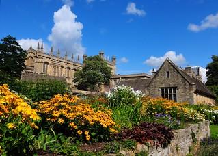 Summer sky over Oxford