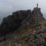 Standing atop Sgurr Dubh Mor, Cuillin Ridge (Skye) thumbnail