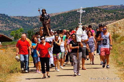 """Salinas del Manzano: La procesión de San Roque • <a style=""""font-size:0.8em;"""" href=""""http://www.flickr.com/photos/26679841@N00/15316231078/"""" target=""""_blank"""">View on Flickr</a>"""