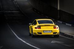 Debajo de un puente... (Nash FRosso) Tags: car sport puerto 911 amarillo turbo porsche yelow supercar 997 banus mk1 mki gialo hipercar