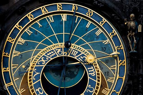 Prague - Medieval Clock - Tick Tock To Death