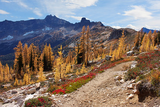 Pacific Crest Trail - Cutthroat Pass - Washington State