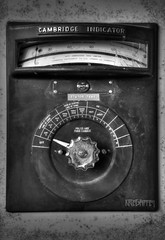 Slot 1. (Kriegaffe 9) Tags: abandoned mono decay dial urbex dustrial ngte pyestock