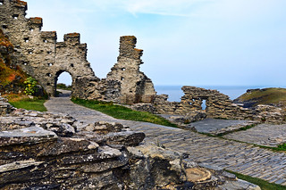 Camelot ?  Tintagel Castle Ruins