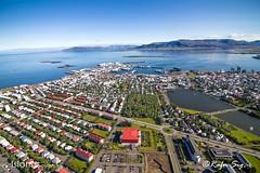 Reykjavík from air