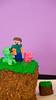 Minecraft Cake (jasonclarkphotography) Tags: birthday newzealand christchurch cake sony nex canterburynz minecraft nex5 jasonclarkphotography