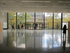 IIT College of Architecture, Crown Hall (rwchicago) Tags: urban chicago architecture modern campus iit miesvanderrohe modernist crownhall glasswall steelframe steelandglass openhousechicago openhousechicago2014