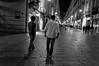 walk (shahzebali) Tags: blackandwhite italy night photoshop torino nikon bandw d3200 denoise topazlabs
