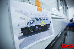 We do mockups for your vehicle before we print anything, so you know what it's going to look like when it's finished.