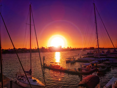 The Sun Never Sets (/\ltus) Tags: california sunset harbor sailing harbour sony boyscouts funeral socal southerncalifornia orangecounty nothdr newportseabase