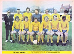 TELFORD UNITED 1971 (bullfield) Tags: amber 1971 shropshire wellington wembley telfordunited buckshead fatrophy jackbentley