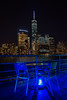 In Darkness We Shine Brightest (dbushue) Tags: city nyc newyorkcity cruise autumn newyork fall skyline table lights evening boat october ship chairs manhattan deck wtc bigapple 2014 freedomtower coth supershot damniwishidtakenthat oneworldtradecenter coth5