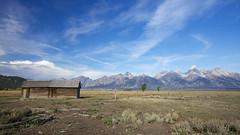 Tetons (G0Da) Tags: travel barn nationalpark awesome grand oldschool yellowstone tetons