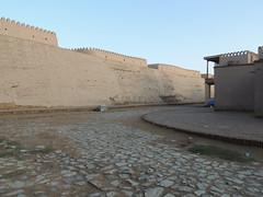 DSCN5487 (bentchristensen14) Tags: uzbekistan citywall khiva ichonqala