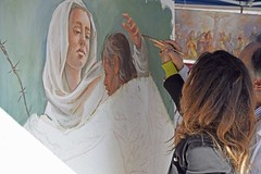 Piazza dei signori Treviso (cristina.depascale) Tags: show mostra city italy sculpture art square stand arte place exhibition treviso scuola scultura sculptress piazzadeisignori estemporanea scultrice