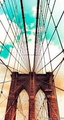 The bridge (Bubba's Bag of Photos) Tags: bridge newyork brooklyn brooklynbridge statiuniti