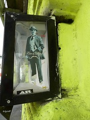 Graff in Berlin - Leo & Pipo (brigraff) Tags: streetart berlin pastedpaper art collage sticker arte leo panasonic urbanart pipo papiercollé pastedup artedelacalle tz7 leoetpipo panasonictz7 brigraff