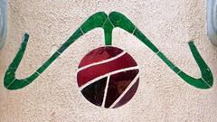 Barcelona - Dr. Roux 015 e (Arnim Schulz) Tags: barcelona espaa building art texture textura faence architecture tile liberty spain arquitectura pattern arte mosaic kunst edificio kacheln mosaico catalonia artnouveau tiles gaud architektur catalunya deco espagne btiment gebude muster modernismo catalua spanien modernisme glazed azulejos jugendstil mosaque baldosa mosaik deko dekoration decoracin espanya katalonien stilefloreale textur belleepoque baukunst carreau
