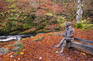 Robert Burns at the Birks of Aberfeldy ~ Explored