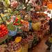 O colorido dos vegetais e frutas