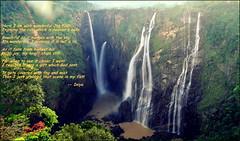 (Aravindan Rajaram) Tags: poetry poem falls jog jogfalls