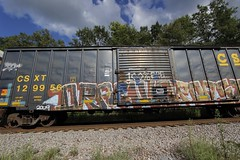Dracula (Revise_D) Tags: graffiti trains dracula 100 tagging freight revised trainart fr8 bsgk benching fr8heaven fr8aholics revisedesigns revisedesign benchingsteelgiants
