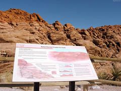 "Red Rock 180 million years ago sign • <a style=""font-size:0.8em;"" href=""http://www.flickr.com/photos/34843984@N07/15546680235/"" target=""_blank"">View on Flickr</a>"