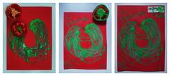 """Hoping for Piroska in Artificial Coma ~ Hoffen fr Piroschka im knstlichen Tiefschlaf  - """"an apple a day keeps the doctor away - An ENSO (Japanese: circle, kreis) a Day ..."""" 16. October 2014 (hedbavny) Tags: vienna wien green rot art circle studio japanese hope austria sterreich spring klein kunst diary brain minimal silence cycle letter wabisabi meditation grn calligraphy minimalism gouache tot beere frucht tod recover ungarn paprika tagebuch capsicum bellpepper aktion gemse atelier kreis erwachen stille enso workingroom werkstatt handschrift gehirn bung japanisch paprikaschote gulasch arbeitsraum behinderung sauerstoff krankheit aufgabe kalligraphie project365 aktionismus prklt piroschka zyklus tiefschlaf blutung gemsepaprika knstlicheskoma hedbavny ingridhedbavny artificialcoma wochenbuch gulyasch paprizieren paprikahenderl"""