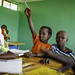 Mohammed Waday, 10, learns alphabets at Beseka ABE Center in in Fantale Woreda of Oromia State