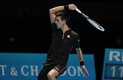 IMG_9522 (Marianne Bevis) Tags: o2 atp tennis nole novakdjokovic djokovic worldtourfinals worldtourfinals2014