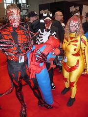 P1120640 (Randsom) Tags: nyc newyorkcity newyork costume cosplay spiderman convention superhero comicbooks carnage rogue marvel villain marvelcomics venom javits rogues 2014 supervillain nycc newyorkcomiccon october2014 nycc2014 newyorkcomiccon2014