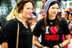 I <3 Zombies (garryknight) Tags: people woman london samsung tourist southbank lightroom nx2000 50200mmf456edois perfectphotosuite