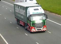 H2970 - PX12 AZB (Cammies Transport Photography) Tags: truck dawn lorry eddie flyover lynda iveco esl m74 lockerbie stobart eddiestobart stralis px12azb h2970