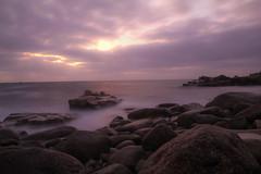 Pose longue, Argenton (jmmuggianu) Tags: sunset pose coucherdesoleil finistère longue argenton