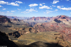 Skeleton Point (isaac.borrego) Tags: arizona sky clouds nationalpark grandcanyon smoke canyon cliffs tonto mesas southkaibabtrail skeletonpoint canonrebelt4i