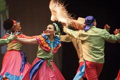 Huellas, Folcloriada Medellin 2014 (Dafero) Tags: party color art dance colombia arte danza folklore carnaval tradition artes tradicin alegra colombiano folclor folclorica medellncolombia teatropablotobonuribe folcloriada