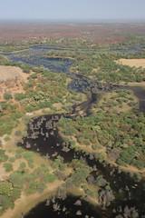 Flying over Okavango Delta (www.JnyAroundTheWorld.com - Pictures & Travels) Tags: botswana scenicflight okawango okavango delta wildlife wilderness nature lanscape river jny canon jnyaroundtheworld jenniferlavoura