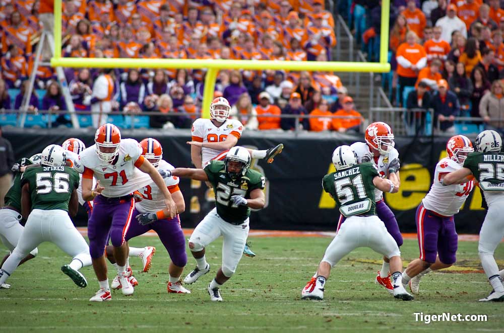 Clemson Photos: 2010, Bowl  Game, Dawson  Zimmerman, Football, southflorida