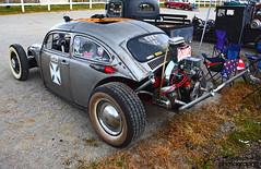 1968 VW Bug Rat Rod (scott597) Tags: ohio fall vw bug volkswagen pumpkin rat rust beetle run rod 1968 nationals patina 2014 owensville