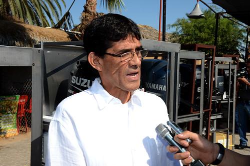 José Luis Moreno Gómez, Subdelegado de Pesca en Sonora.