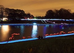 Sefton Park Lake & Light Trails (.annajane) Tags: longexposure carnival lake halloween festival liverpool parade lighttrails lantern lanternfestival seftonpark merseyside lanterncompany