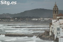 """Sitges Bay Storm • <a style=""""font-size:0.8em;"""" href=""""http://www.flickr.com/photos/90259526@N06/15709600942/"""" target=""""_blank"""">View on Flickr</a>"""