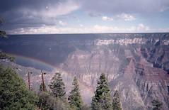 Grand canyon north rim (teacup_dreams) Tags: film rainbow north grand canyon rim