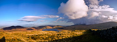 Western Mournes Pano (Philip Blair's Photos) Tags: county ireland panorama cloud mountain mountains wall nikon estate dam sigma down cock western northern 1020 mourne ulster slieve mournes batts spelga meelbeg meelmore d7000