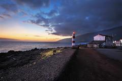 Prainha Lighthouse Sunset (-*HJS*-) Tags: ocean road sunset sea sky lighthouse house portugal water clouds canon seascapes ngc fullframe azores 2014 1635mm picoisland beacheslandscapes 5dmk2
