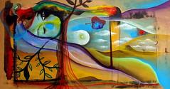 c o r a z o n e s (Felipe Smides) Tags: painting heart paisaje cuerpos corazón sangre pintura corazones fuerza raíz piuke smides felipesmides