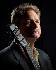Nightflyer Guitar (TNrick) Tags: ohio portrait man grid guitar cincinnati westcott lowkey nightflyer portraitofface rapidbox yn560iii