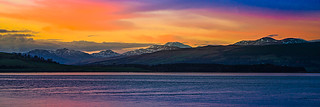 Sunset Over The Firth of Clyde