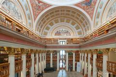 Kansalliskirjasto (Joni Salama) Tags: kirjasto kansalliskirjasto arkkitehtuuri photoshop efekti exposureblending rayapro helsinki suomi finland