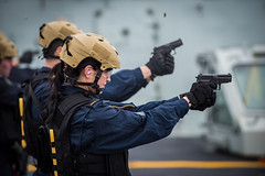 9mm Pistol Shoot (Royal Canadian Navy / Marine royale canadienne) Tags: 9mm pistol shoot ranges royalcanadiannavy rcn hmcswinnipeg poseidoncutlass